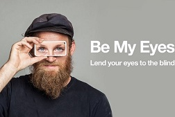 Be My Eyes app:我是你的眼