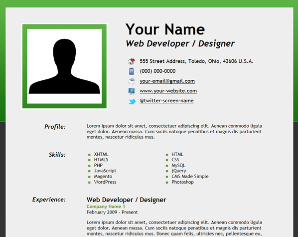 How 2 make resumes northurthwall yelopaper Images
